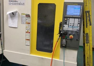 Fanuc Robodrill D21MiA5 with 4th Axis