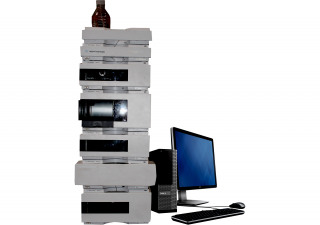 Agilent 1200 HPLC System with RID, Iso Pump, ALS, FC/ALS, TCC, Col Comp, Degasser