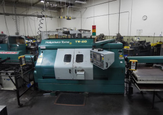 Nakamura Tome TW 20 Twin spindle/turret, fully loaded