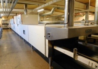 Swiss Roll Production Line With Capacity Up To 2200 Pieces/Hour