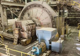 Mill, Sag, 18' X 10-1/2', Fuller, 1500 Hp, R/L,