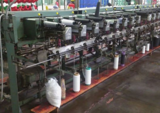 Schweiter Sectional warping machine