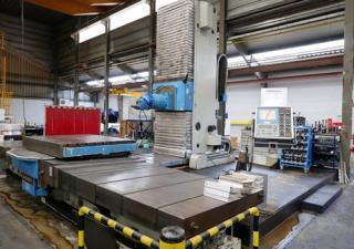 Juaristi TS5 5-Axis CNC Horizontal Boring Mill