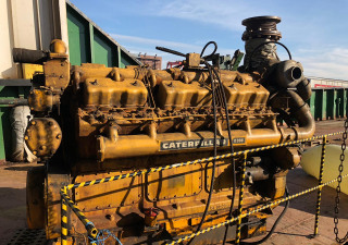 Caterpillar D398 Diesel Generator