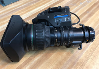 Canon  HDXS HJ17EX 7.6B IRSE Zoom lens