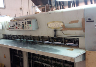 Cross feed veneer splicer RUCKLE FR 2800