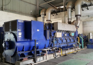 2 Sets x 2.5MW used Diesel/HFO Power Plant