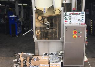 Romaco Unipac Silver 90 Plastic & Metal Tube Filler