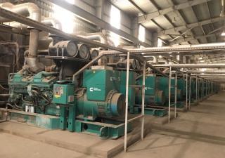 50MW Power station (25 x 2000 KVA Cummins QSK60-G4)