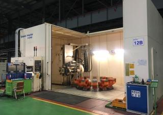 NTN Windmill Slewing Bearing Production line