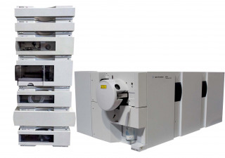 Agilent 6410B Triple Quad LCMS ( 6400 Series QQQ G6410B LCMS MSD MS ) with Agilent 1100 Series HPLC System