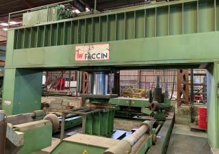 Faccin PPM + Manipulator MA 120 Ø 8000 x 800 Ton