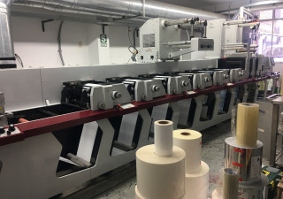 "Mark Andy P3 - 13"" Label printing machine"