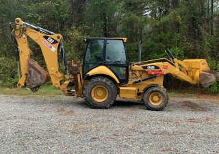 Caterpillar 450E Backhoe