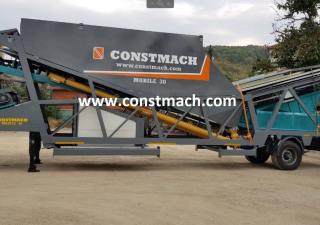 CONSTMACH MOBILE 30 CONCRETE PLANT