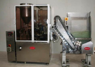 Kalix Dupuy Model KX-80 Automatic Plastic Tube Filling and Sealing Machine