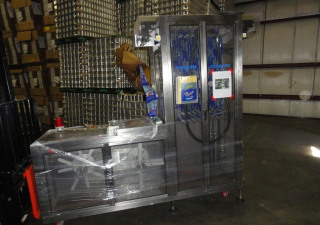 Used NAFM LX-350 Shrink Labeling /Full Body Sleeve Machine