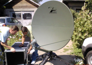 Patriot Antenna Systems TXFLY-120KU 1.2m Ku FlyAway system