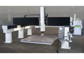 "Used QUINTAX Gantry-style G5 Machining Center 144"" x 144"" 5 Axis Router"