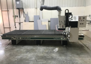 Used Onsrud Model 144G10 CR 5′ x 12′ Table, New in 2002