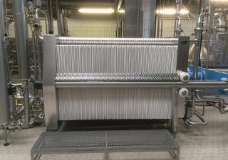 Sheet filter, Plate Filter SCHENK Niro 1200/175