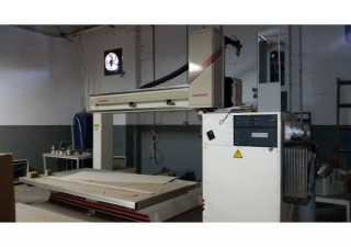 Used Thermwood C67 5 Axis CNC Router, 5′ x 10 Table, New in 2004