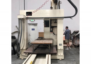 Thermwood 5 Axis CNC Router, 5'x10′ Table, 24″ Z Travels, 7HP Spindle, New in 1996