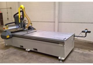 "Used 2015 Multicam 3000 Series Model 3-103-R CNC Router, 50"" x 100"" table"