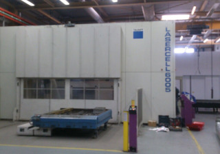 TRUMPF TLC6005 CNC Laser Cutting Machine/Plant