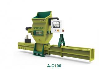 Polystyrene shredder GREENMAX AC100