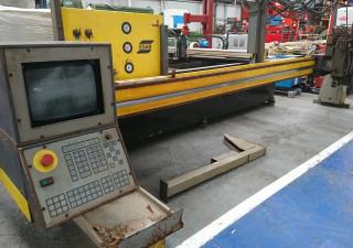 ESAB Suprarex SXE-P5000 CNC Gas Flame Profile Cutting Machine