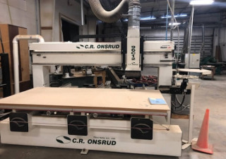 "Used Onsrud Model 96C12 CNC Router, New 2004, 61"" x 98"" Table"