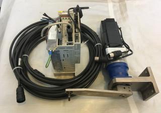OMRON Servomotor set motor SGDH-08, driver SGDH-08 incl. cables