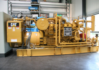 Caterpillar CAT G3512 CHP Combined Heating & Power Plant