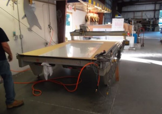 "Used 2003 Multicam Model 304 M Series CNC Router 80"" x 120"""