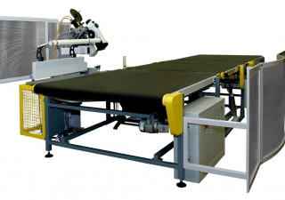 Ümit Makina |  K-40 AUTOMATIC MATTRESS TAPE EDGE MACHINE