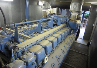 MTU Friedrichshafen MTU 16396 CHP - Combined Heating and Power Plant (Diesel) (Only 980 working hours)