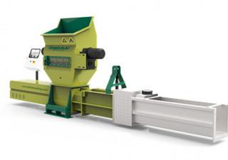 Polystyrene foam recycling by using machine GREENMAX ZC200