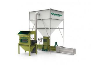 EPS screw compactor GREENMAX ZEUS C300
