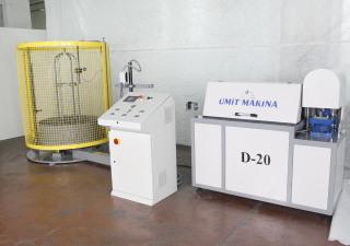 Ümit Makina |  D-20 AUTOMATIC WIRE STRAIGHTENER