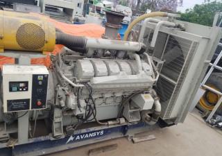 Mitsubishi 1000Kw S12H-PTA generator set