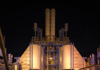Used complete steam turbines GE Frame 6B 60MW