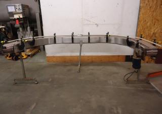Nuspack Engineering stainless steel conveyor