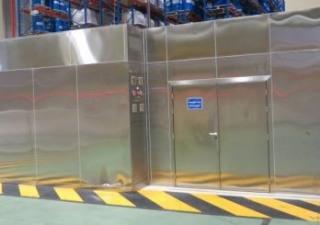 Ermaflux – Sampling cabin ISO 7