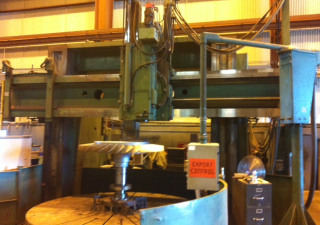 Gray CNC Vertical Boring Mill