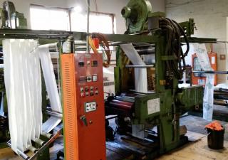 Imprimante flexographique 2 presse d'impression couleur. Hon Jin Iron Works Co., LTD. HJ-2002