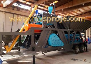 MVS Proje Ltd. Şti.  MVS MINIMOB30/45 Mobile Concrete Batching Plant