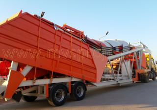 MVS Proje Ltd. Şti.  MVS 60M Mobile Concrete Batching Plant