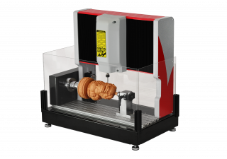 SAGETECH MACHINERY ROTARY ENGRAVER RE20 ROTARY CNC MINI CNC.
