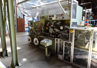 IMA   (Italy) IMA Line includes IMA C2000 tea bag machine, All-Fill check weigher, IMA carton wrapper & IMA packer